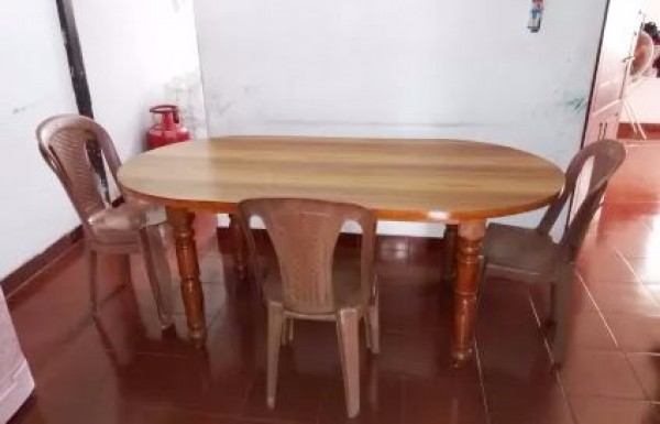 Wooden Dining Table 2 Chair For Sale At KochiKochi HOkerala Furniture