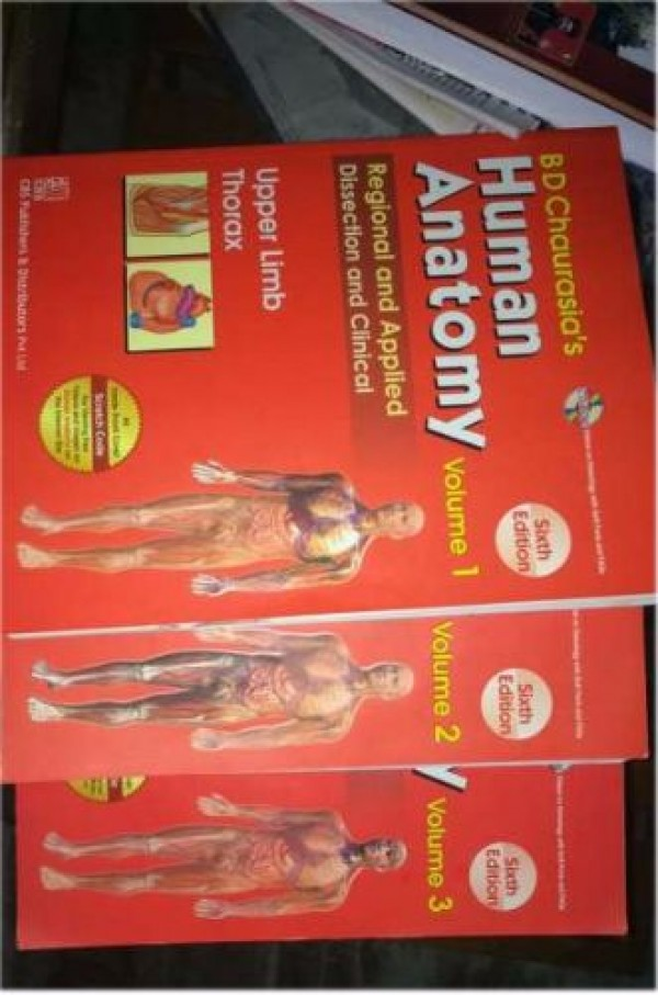 Human Anatomy Text Volume For Sale At Alappuzha Alappuzhacherthala