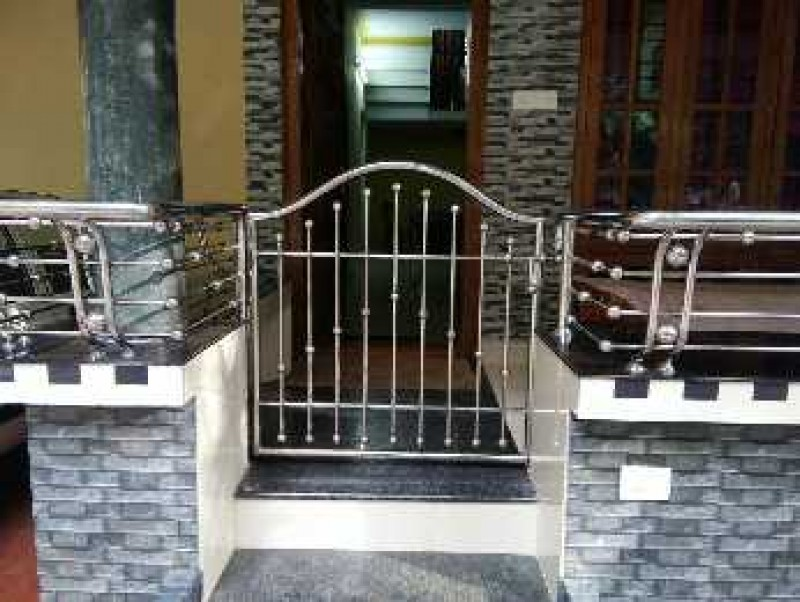 Stainless Steel Handrails Gates Sopanam And Middle Steel