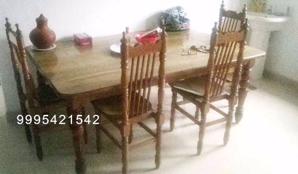 Teak Wood Dining Table For Sale At VytilaVyttila Kerala Furniture