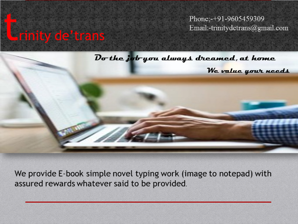 E-book simple novel image to notepad typing,Pathanamthitta